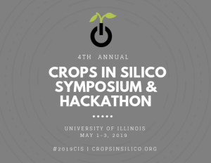 Crops in silico » 2019 Annual Meeting
